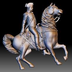 Washington Statue STL file for CNC router - 3D model bas-relief.jpg Télécharger fichier STL Fichier STL de la Washington Statue pour routeur CNC - bas-relief du modèle 3D • Objet imprimable en 3D, voronzov