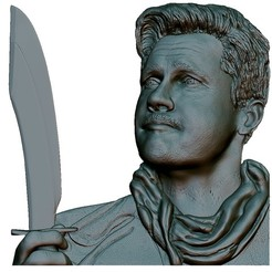 1.jpg Download STL file Portrait Bas relief • 3D printer design, voronzov