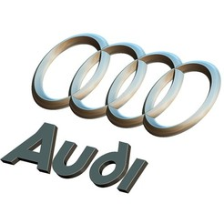 Download 3D printing files Audi logo, voronzov