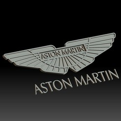 Download 3D printer designs Aston Martin logo, voronzov