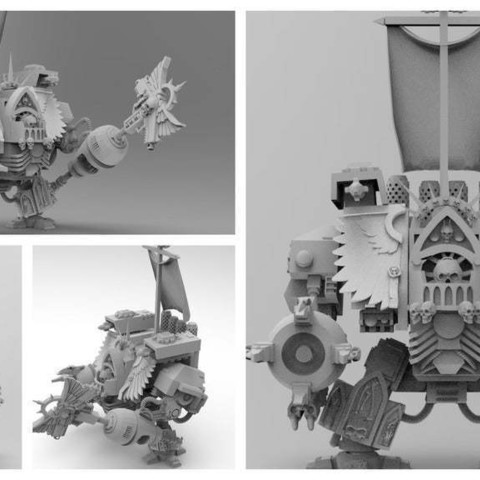 e446774a44d67f834b7deb1912848e6a_display_large.jpg Download free STL file Super Old and Preachy Boxy Robot with Badass Beating Stick • 3D printable model, bentanweihao