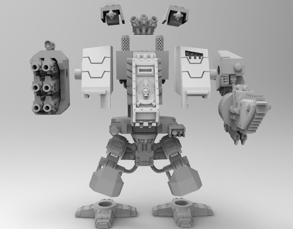 0ce0bbe0376258bffdedab5ab02b15be_display_large.jpg Download free STL file Super Over-Compensating Boxy Robot • 3D printing template, bentanweihao