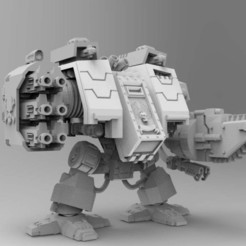 Download free 3D printing templates Super Over-Compensating Boxy Robot, bentanweihao