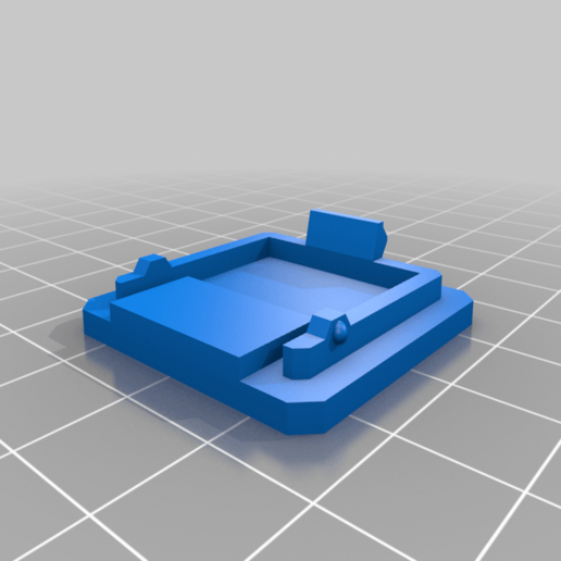 enclosure_back.png Download free STL file Anycubic I3 Mega Raspberry Pi Camera Mount - Remix • Design to 3D print, nik101968