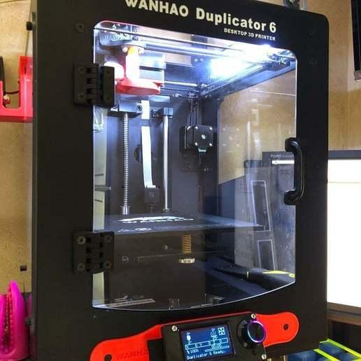 Download free 3D printing templates FYSETC Mini12864 Panel Wanhao Duplicator 6 - Monoprice, nik101968