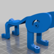 """Download free STL file GEPRC LX4 to 5"""" props - canopy - pod • 3D printing model, nik101968"""