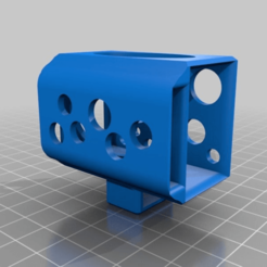 Download free 3D printer designs LiPo 3S holder for FPV goggles, nik101968