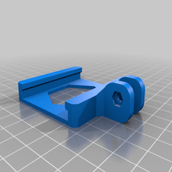 Download free 3D printer designs Anycubic I3 Mega Raspberry Pi Camera Mount - Remix, nik101968