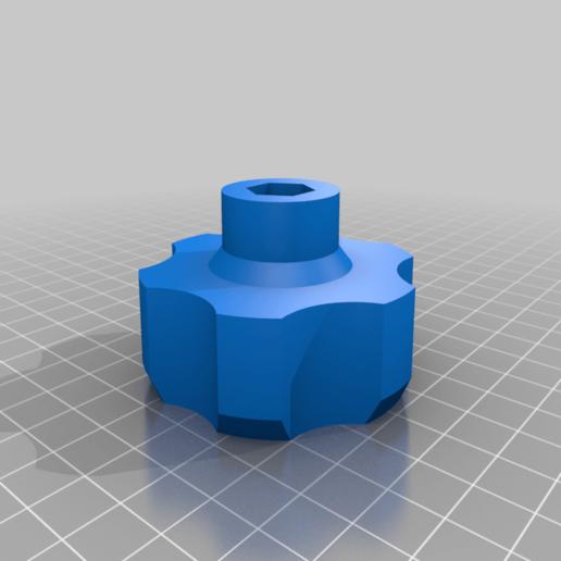 M8_Knob_60mm_Dia_v1_v4.png Download free STL file KNOB M8 60mm Diameter • 3D printable object, nik101968