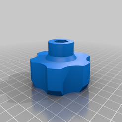 Download free STL file KNOB M8 60mm Diameter • 3D printable object, nik101968