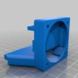 Download free STL file CTC Bezer Replicator Dual nozzle fan support ver4 • 3D printer design, nik101968