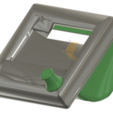Schermata_2020-02-27_alle_18.27.18.png Download free STL file Anycubic i3 Mega Reprap Discount LCD Display mount adapter plus knob • 3D printing model, nik101968