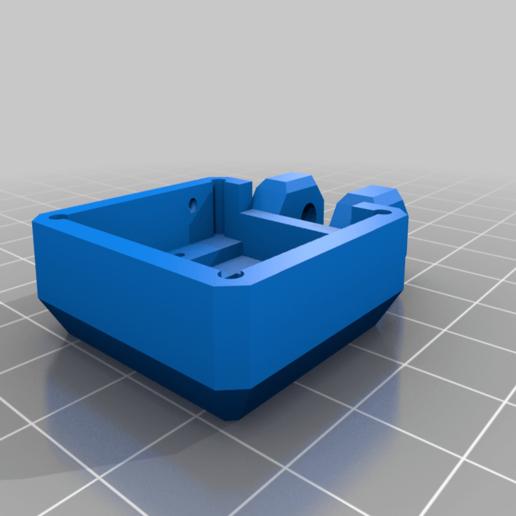 Anycubic_Mega-S_camera_enclosure_front.png Download free STL file Anycubic I3 Mega Raspberry Pi Camera Mount - Remix • Design to 3D print, nik101968