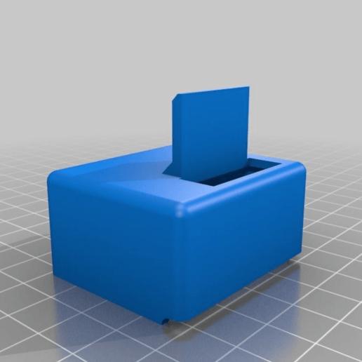 c89051a367740f75b746f2b6e6a3832b.png Download free STL file Wanhao D6 / Duplicator 6 / Monoprice Ultimate Maker Ribbon Cable Holder for BondTech • 3D print object, nik101968