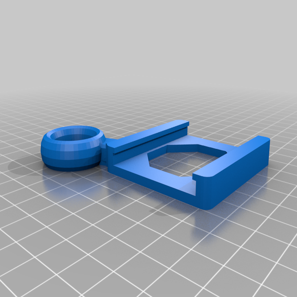 Anycubic_Mega-S_hotbed_handle.png Download free STL file Anycubic I3 Mega Raspberry Pi Camera Mount - Remix • Design to 3D print, nik101968