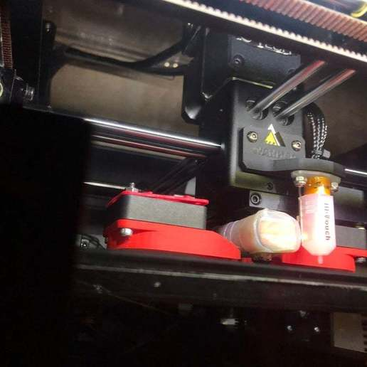 IMG_2595.JPG Download free STL file Wanhao Duplicator 6 D6 BLtouch support • 3D print object, nik101968