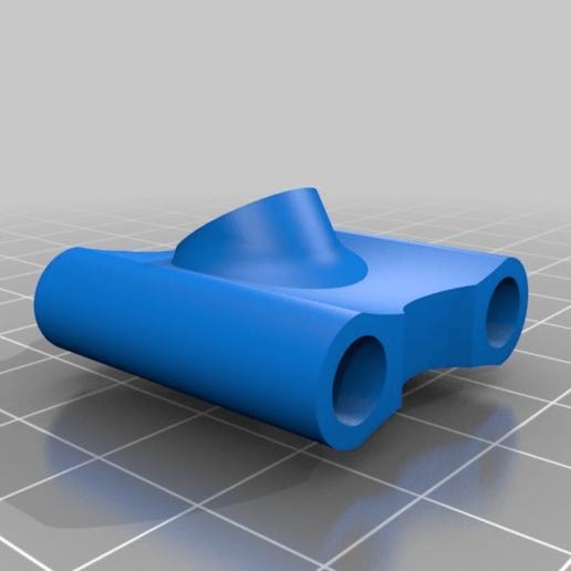 Download free STL file GEPRC GEP Mark 2 Mark2 SMA antenna holder • 3D printing design, nik101968