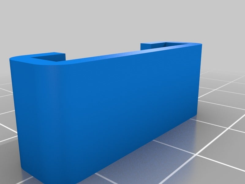 76078fa484e94ea7bb87453da8bad805.png Download free STL file Wanhao D6 / Duplicator 6 / Monoprice Ultimate Maker Ribbon Cable Holder for BondTech • 3D print object, nik101968