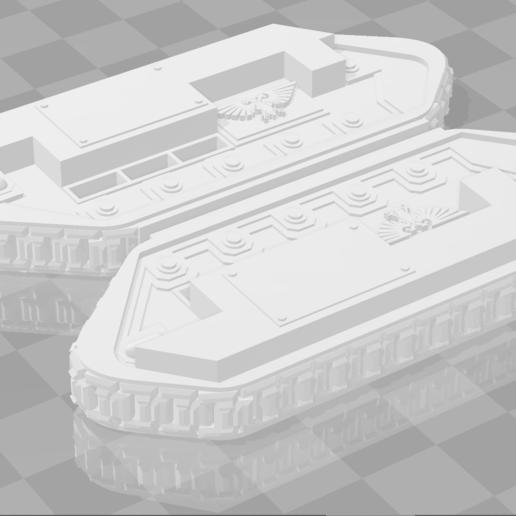 Descargar diseños 3D gratis Guardia Imperial Centauro Portadora Centauri Pistas Proxy Alternas V1, FilmBoy84