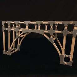 BRIDGE_4_display_large.jpg Télécharger fichier STL gratuit Projet : Construction d'un pont de conception 123D • Objet pour imprimante 3D, Urulysman
