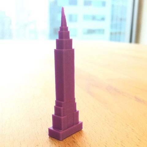 Download free 3D printer files Empire State Building + MakerEd Project, Urulysman