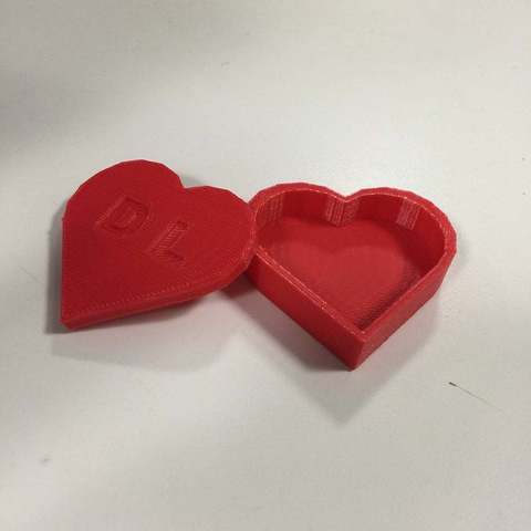 Download free 3D printer model Heart Box Tinkercad Tutorial, Urulysman