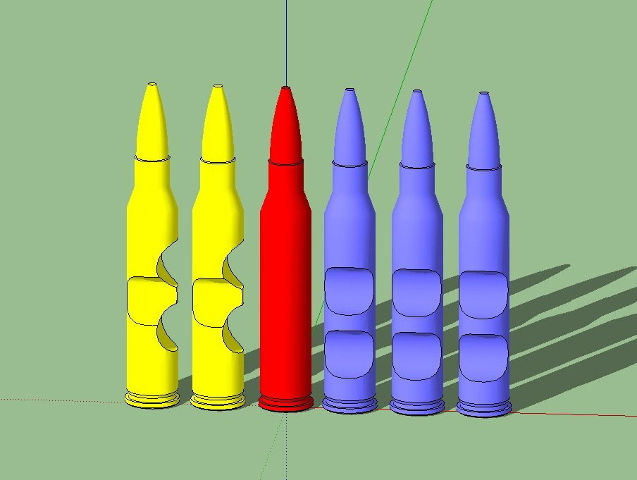 Clip_display_large.jpg Download free STL file Bullet Puzzle • 3D printable object, Urulysman