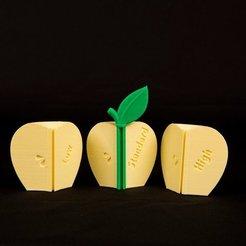 Download free 3D printing templates Resolution Apple, Urulysman