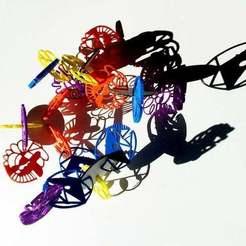 Descargar archivo 3D gratis Conjunto de conectores de arte (SVG Conversion Project), Urulysman