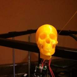 Download free 3D printer files RigidBot Frame Skull, Urulysman