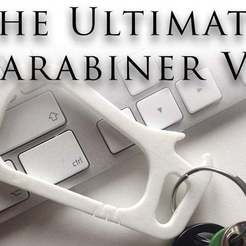 Download free 3D printer designs THE ULTIMATE CARABINER V2, Vilereth
