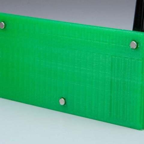 holder1_display_large.jpg Download free STL file Sticky Note and Pen holder for Fridge • 3D print design, Vilereth