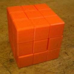 Download free STL Cube Puzzle, Vilereth