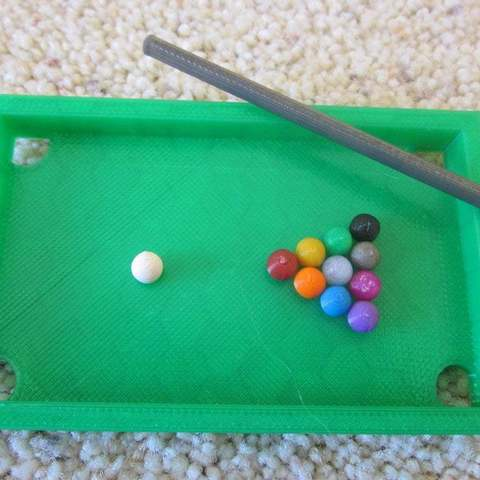 Download free STL Mini Pool Table, Vilereth