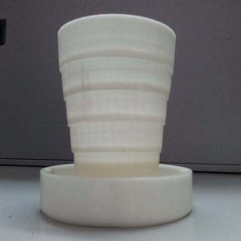 Download free 3D printing designs Folding Cup, Vilereth