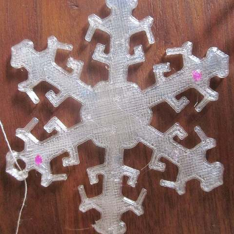 Download free 3D model Snowflake Ornament, Vilereth