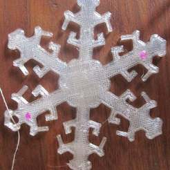 Download free 3D model Snowflake Ornament, Vilereth