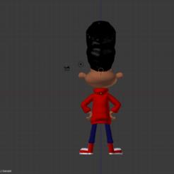 Télécharger fichier 3D Gerald - Hey Arnold, Nerdboy_Q
