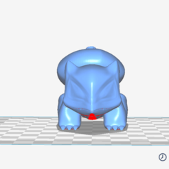 Download 3D printer templates Bulbasaur Desk Figurine - STL FILE, Nerdboy_Q