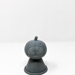 Jack-o-led.jpg Download STL file Jack Skellington - Jack-O-Led • 3D printable model, Nerdboy_Q