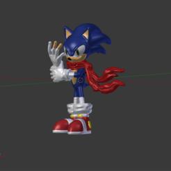 Descargar modelos 3D Sonic El Erizo, Nerdboy_Q