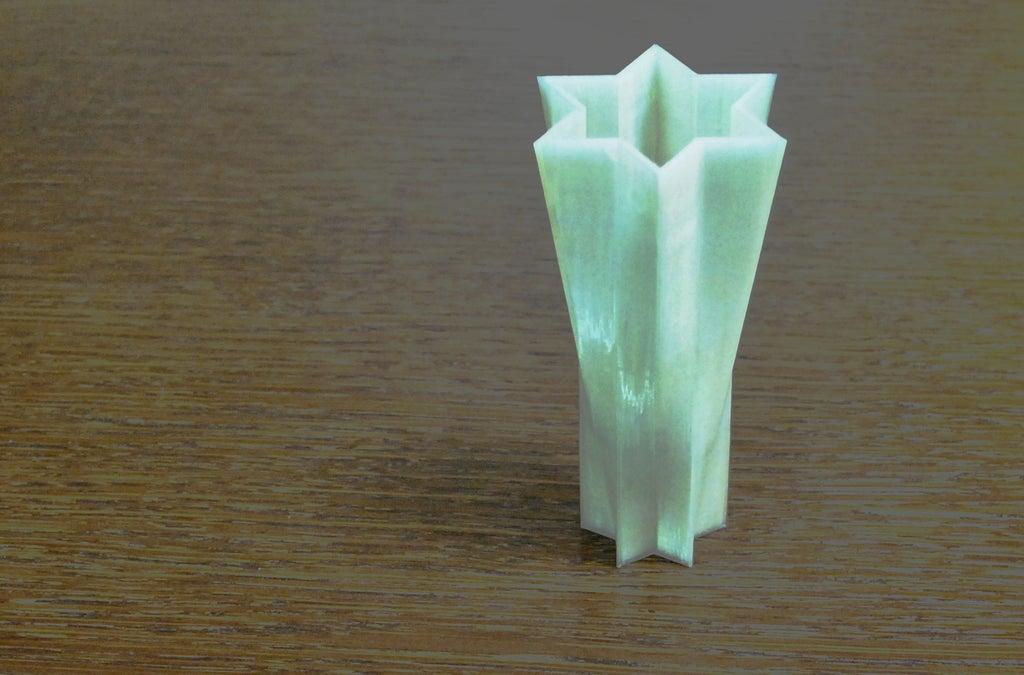 Vase__display_large.jpg Télécharger fichier STL gratuit Vase Etoile de David • Modèle imprimable en 3D, Balkhgar
