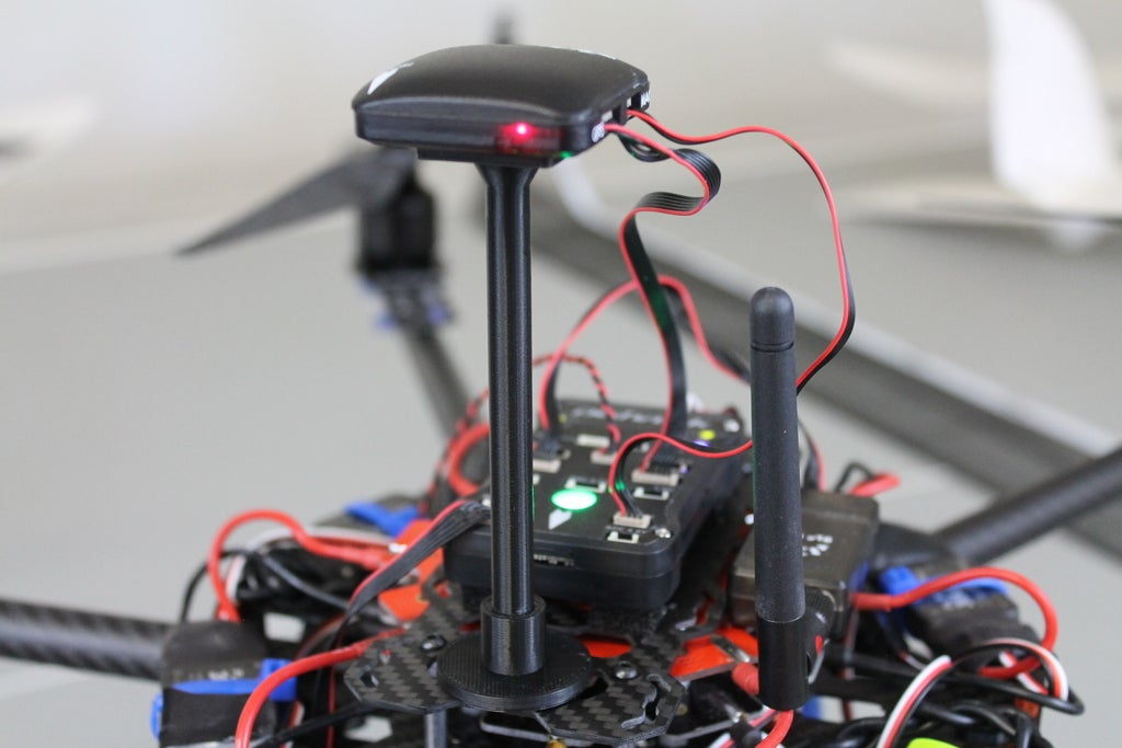 IMG_9105_display_large.jpg Télécharger fichier STL gratuit Support GPS/Compas pour multirotors APM et Pixhawk • Design imprimable en 3D, Balkhgar