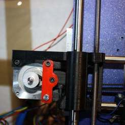 Free 3D printer model prusa i3 single frame x belt tensioner, Balkhgar