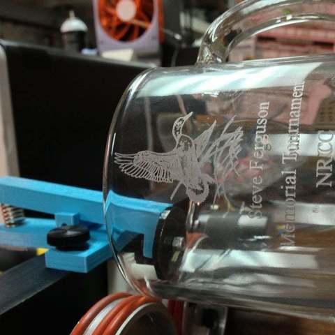 Télécharger plan imprimante 3D gatuit Mise à niveau de la poignée d'attache du cylindre laser Epilog, Balkhgar
