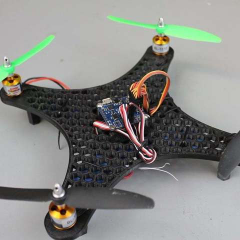 Download free 3D printer designs DIY Mini Quadcopter Honeycomb Edition, Balkhgar