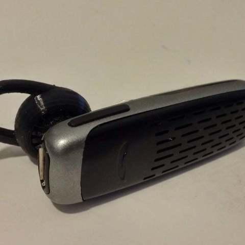 Free 3D printer model ear-fitting for plantronics M25, Balkhgar