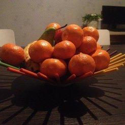 Free STL Pencil fruit bowl, Balkhgar