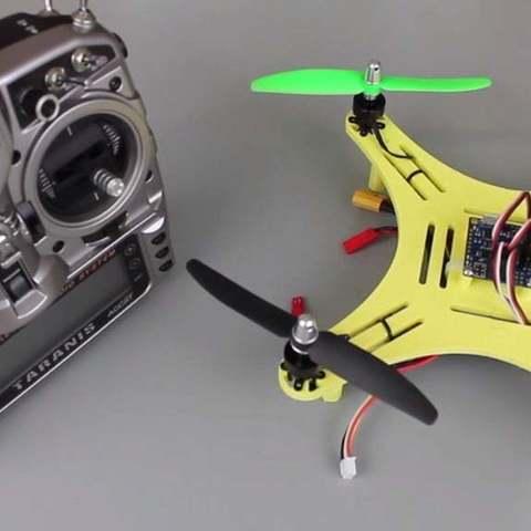 Télécharger objet 3D gratuit Bricolage Mini Quadcopter V2, Balkhgar
