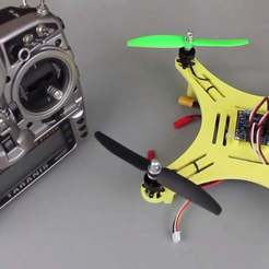 Download free STL files DIY Mini Quadcopter V2, Balkhgar